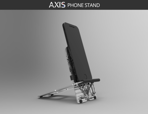 Un soporte para teléfono móvil y tablet de diseño | Axis Phone Stand | Axis Stands