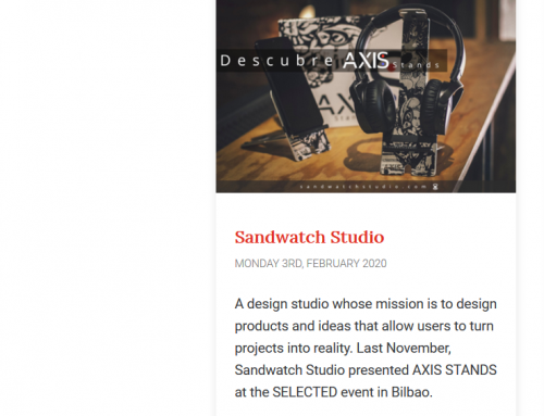 Sandwatch Studio en SELECTED 2019