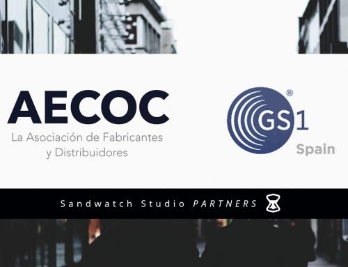 Sandwatch Studio ya forma parte de las organizaciones GS1 y AECOC (Asociación de fabricantes y distribuidores)